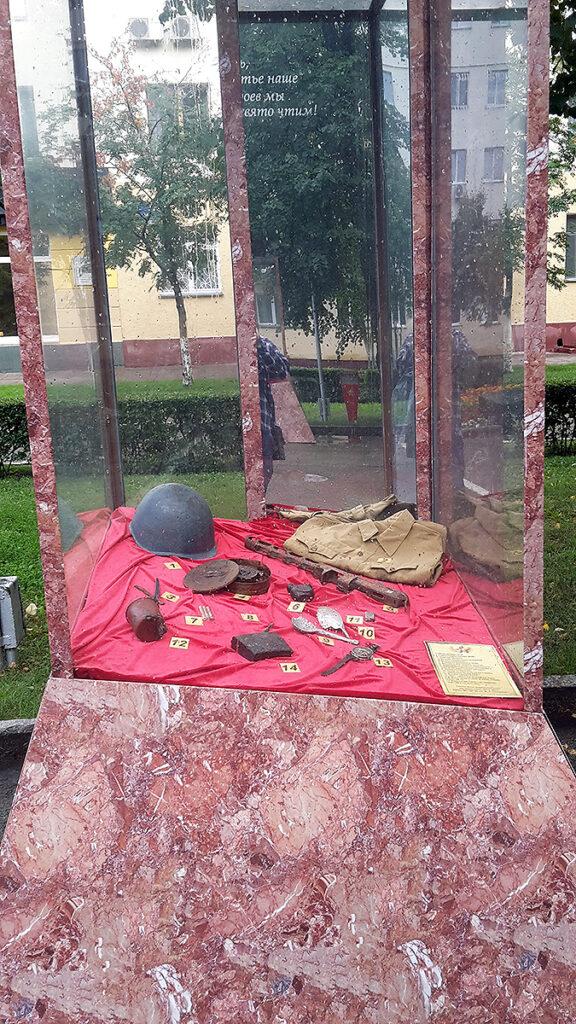 экспонаты времен ВОВ в Кемерово